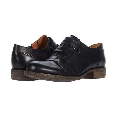 Miz Mooz ミズムーズ レディース 女性用 シューズ 靴 オックスフォード ビジネスシューズ 通勤靴 Liam - Black