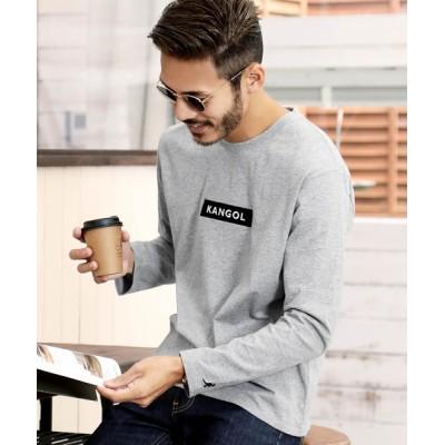 JIGGYS SHOP / KANGOL ( カンゴール ) クルーネック 刺繍ロゴ ロンT  JIGGYS SHOP セレクト MEN トップス > Tシャツ/カットソー