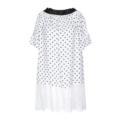 4GIVENESS ミニワンピース&ドレス ホワイト S ポリエステル 100% / ナイロン ミニワンピース&ドレス