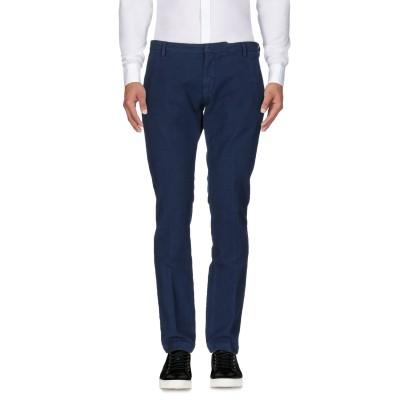 MICHAEL COAL パンツ ブルー 35 コットン 99% / ポリウレタン 1% パンツ