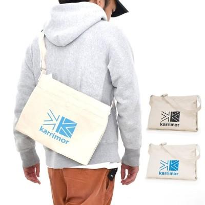 カリマー karrimor サコッシュ コットン ショルダー メンズ レディース ブランド ミニショルダー ミニバッグ バッグ ロゴ SU-GSBJ-1103-02 07 cotton shoulder