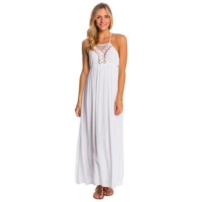 リップカール ドレス ワンピース 69.50 RIP CURL VAGABOND MAXI ホワイト ドレス  サイズ ミディアム code 25-69