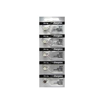 特別価格エナジャイザー317ボタン電池シルバー酸化物SR516SW腕時計5個のバッテリーパック好評販売中