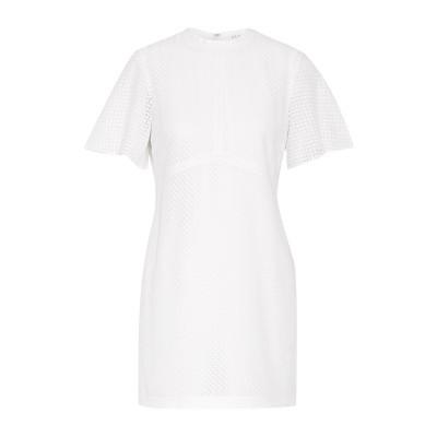 エー・エル・シー A.L.C. ミニワンピース&ドレス ホワイト 8 コットン 75% / ナイロン 25% ミニワンピース&ドレス