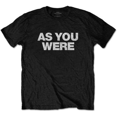 LIAM GALLAGHER オアシス (映画『KNEBWORTH1996』公開決定 ) - AS YOU WERE / Tシャツ / メンズ 【公式 / オフィシャル】(L)