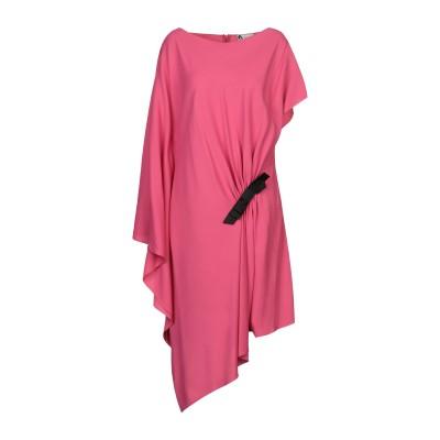 ランバン LANVIN ミニワンピース&ドレス フューシャ 38 レーヨン 97% / ポリウレタン 3% ミニワンピース&ドレス