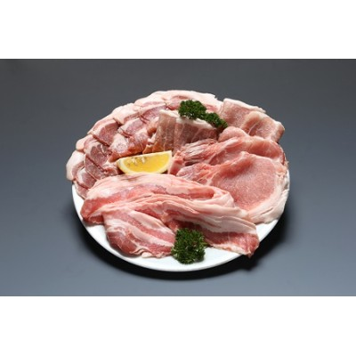 パンを食べて育ったむつみ豚の焼肉セット(1万円コース)