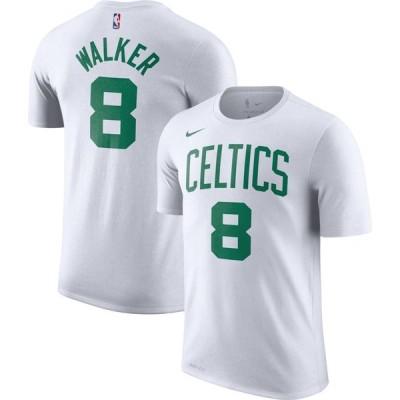 ナイキ Nike メンズ Tシャツ ドライフィット トップス Boston Celtics Kemba Walker #8 Dri-FIT White T-Shirt