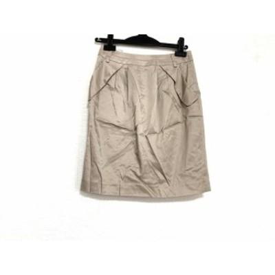 ジャスグリッティー JUSGLITTY スカート サイズ1 S レディース 美品 ライトブラウン【中古】20191126