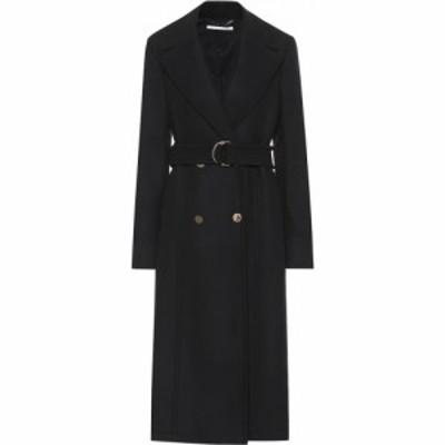 ステラ マッカートニー Stella McCartney レディース コート アウター Belted wool coat Black