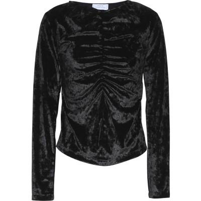 JOLIE by EDWARD SPIERS T シャツ ブラック XS ポリエステル 90% / ポリウレタン 10% T シャツ