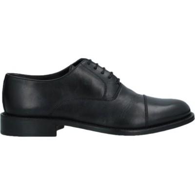 デヴォン DEVON メンズ シューズ・靴 laced shoes Black