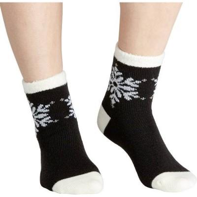 フィールドアンドストリーム レディース 靴下 アンダーウェア Field & Stream Women's Cozy Cabin Placed Snowflake Socks