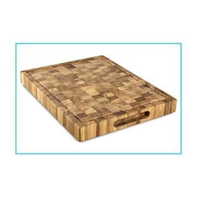エンドグレイン木製まな板。 16X12【並行輸入品】