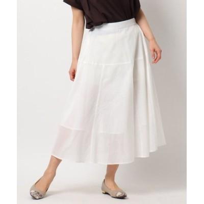 ロハシーコットンAラインスカート/ONSTYLE/テレワーク/WEB会議