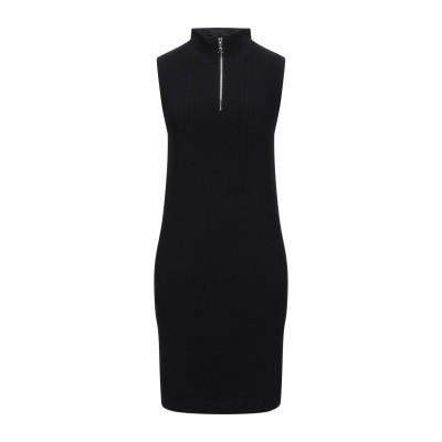 パトリツィア ペペ PATRIZIA PEPE ミニワンピース&ドレス ブラック 2 レーヨン 65% / ナイロン 35% ミニワンピース&ドレス