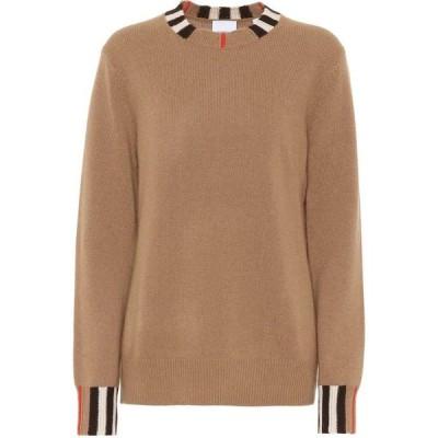 バーバリー Burberry レディース ニット・セーター トップス Eyre cashmere sweater Archive Beige