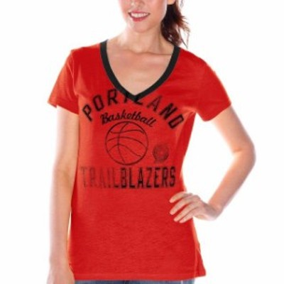 G-III 4Her by Carl Banks ジースリー フォーハー バイ カール バンクス スポーツ用品  Portland Trail Blazers Womens Red Back Court C
