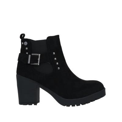 XTI ショートブーツ ブラック 38 紡績繊維 ショートブーツ