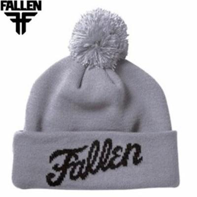 FALLEN フォールン スケートニットキャップ Fury Beanie Fallen Fury Beanie グレー NO01