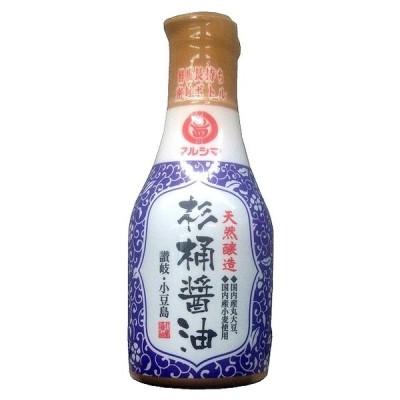 しょう油 醤油 マルシマ 丸島醤油 天然醸造 杉桶醤油 デラミボトル 200ml