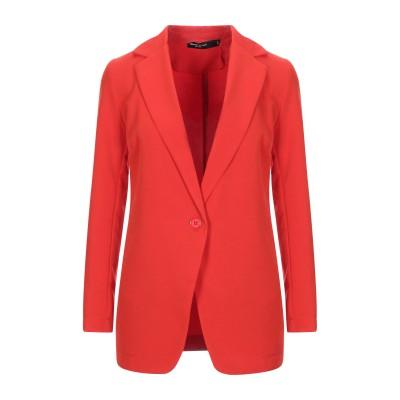 SPAGO DONNA テーラードジャケット レッド 42 ポリエステル 89% / ポリウレタン 11% テーラードジャケット