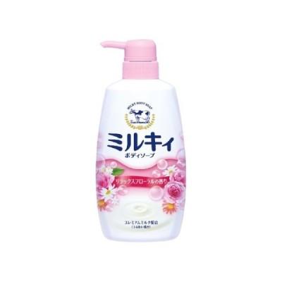 ミルキィボディソープ リラックスフローラルの香り ポンプ付・550mL