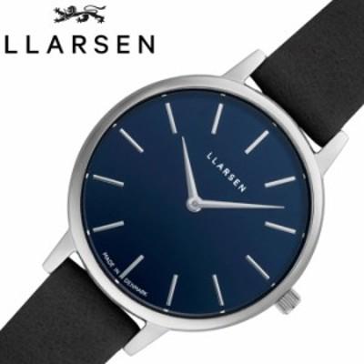 エルラーセン 腕時計 LLARSEN 時計 キャロライン Caroline レディース ブルー LL146SDBLL