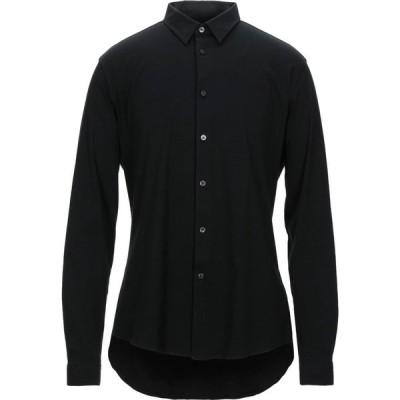 ドライコーン DRYKORN メンズ シャツ トップス solid color shirt Black
