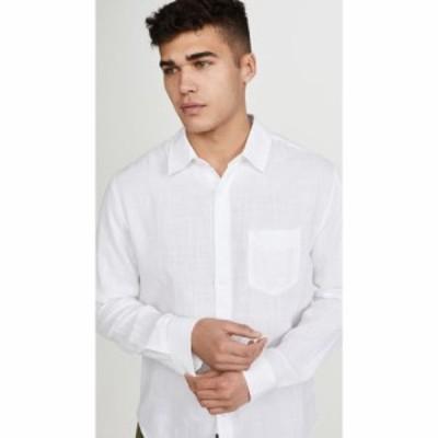 レイルズ RAILS メンズ シャツ トップス long sleeve wyatt shirt White