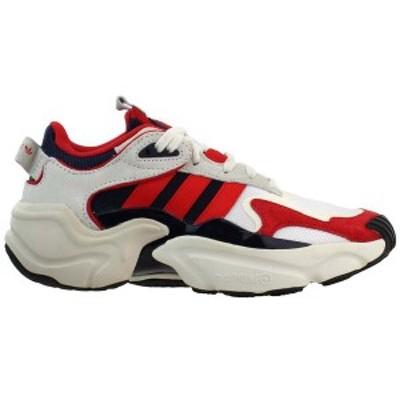アディダス レディース スニーカー シューズ Magmur Runner Lace Up Sneakers Legend Ink / Lush Red