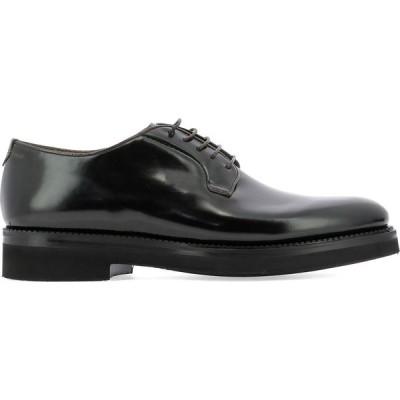 """ファビ Fabi メンズ 革靴・ビジネスシューズ レースアップ シューズ・靴 """"Kitna"""" Lace Up Shoe Black"""