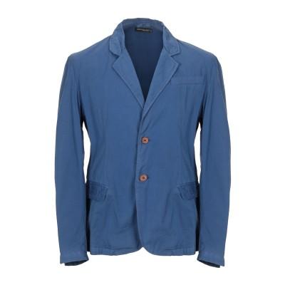 WIL DEMULDER  London テーラードジャケット ブルーグレー 1 コットン 100% テーラードジャケット