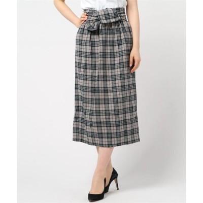 スカート グラフチェックスカート