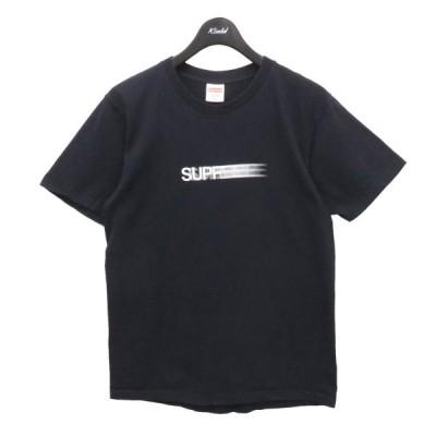 SUPREME 2016SS Motion Logo Tee Tシャツ ネイビー サイズ:M (フレスポ東大阪店) 210411