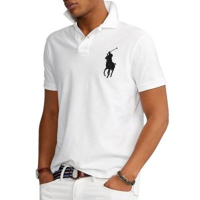 ラルフローレン メンズ ポロシャツ トップス Big Pony Custom Slim Fit Mesh Polo Shirt