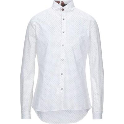 ニール カッター NEILL KATTER メンズ シャツ トップス Patterned Shirt White