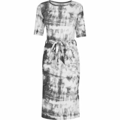 ファブリック Fabric レディース ワンピース ワンピース・ドレス Tie Dye Dress Black