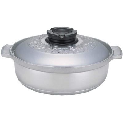 北陸アルミニウム 業務用 マイスターちり鍋 27cm IH対応 アルミニウム合金 日本 QTL4901