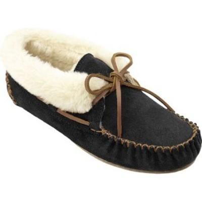ミネトンカ Minnetonka レディース スリッパ シューズ・靴 Chrissy Bootie Black Suede