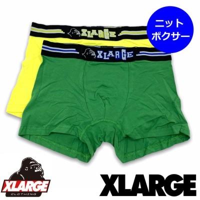 エクストララージ【X-LARGE】 メンズ ボクサー パンツ 14641700 マウンテン ニットボクサー 綿95%