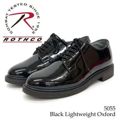 【ROTHCO ロスコ】ハイグロス オックスフォードシューズ 5055 ポストマンシューズ【5055】ブラック