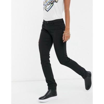 モスキーノ Love Moschino レディース ジーンズ・デニム ボトムス・パンツ Low Rise Skinny Jeans ブラック
