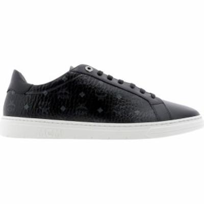 エムシーエム Mcm メンズ スニーカー シューズ・靴 All-Over Logo Sneakers Black