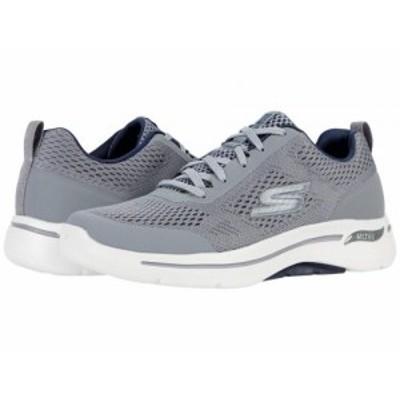 SKECHERS Performance スケッチャーズ メンズ 男性用 シューズ 靴 スニーカー 運動靴 Go Walk Arch Fit Idyllic Grey/Navy【送料無料】