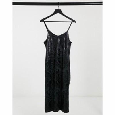 ボロンガロトレバー Bolongaro Trevor レディース ワンピース スリップドレス ワンピース・ドレス Billie Slip Dress In Black Print