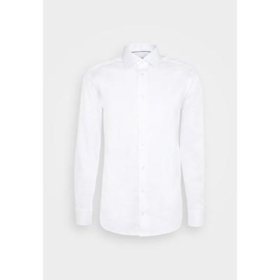 エトン シャツ メンズ トップス SOLID STRETCH - Formal shirt - white