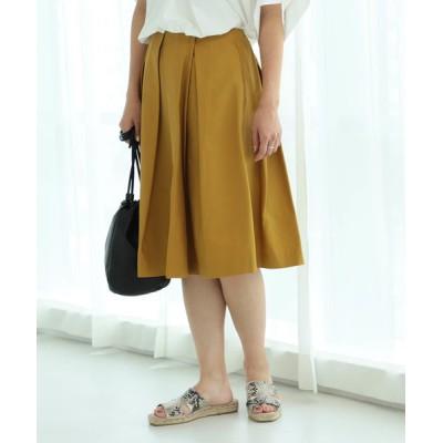BEAMS WOMEN / Ray BEAMS / ボックスタック フレア スカート WOMEN スカート > スカート