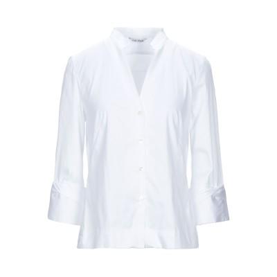 カリバン CALIBAN シャツ ホワイト 38 コットン 70% / ナイロン 27% / ポリウレタン 3% シャツ