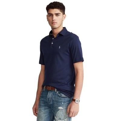 ラルフローレン ポロシャツ トップス メンズ Men's Classic-Fit Soft Cotton Polo Shirt French Navy